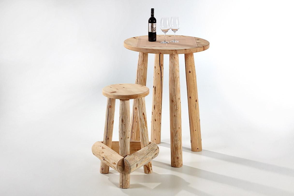 barhocker schnalser s ge handgemachte zirbenholz m bel. Black Bedroom Furniture Sets. Home Design Ideas